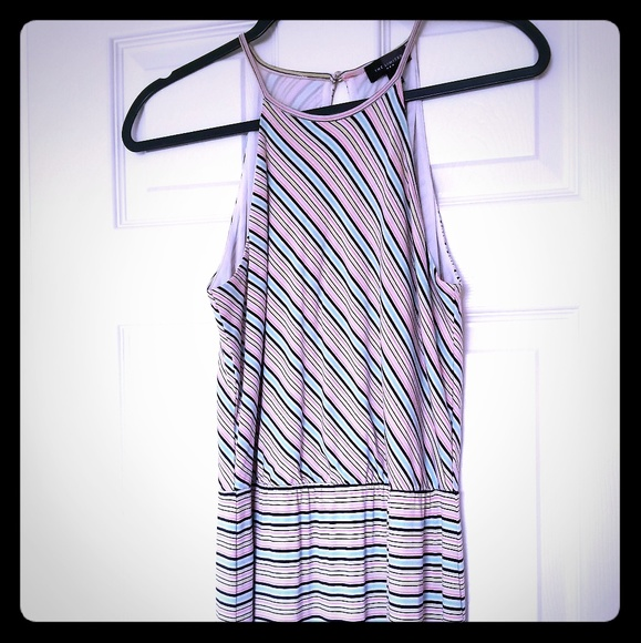 The Limited Dresses & Skirts - NWOT The Limited Summer Striped Maxi Dress